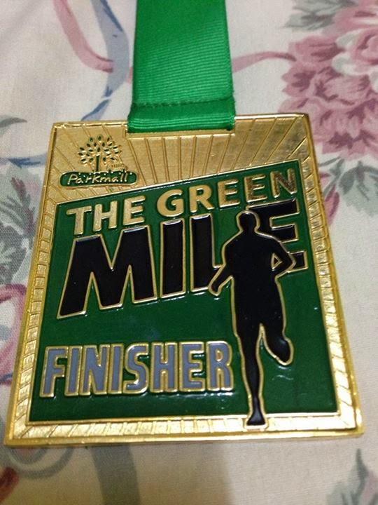 The+Green+Mile+Run+-+Medal