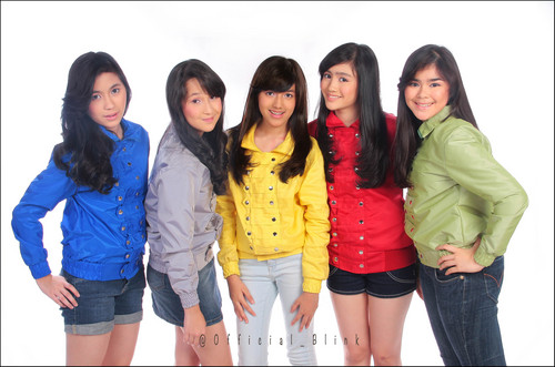 Foto Personil Blink Girl Band Indonesia