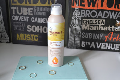 Superdrug Vitamin E 360° Spray On All Over Body Lotion