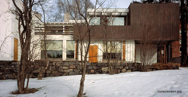 Casa Moderna nórdica diseño de Alvar Aalto en Finlandia 1936