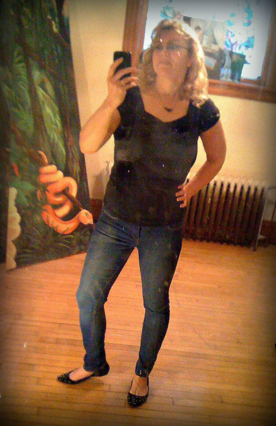 Me in Skinny Jeans!