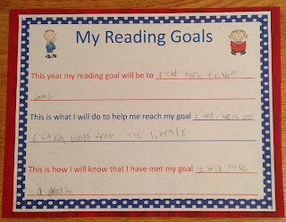 Reading Goal Forms