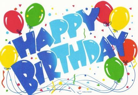 Letras Happy Birthday