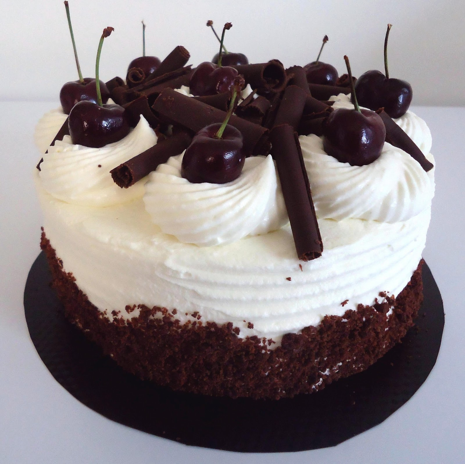 Photo de gateau foret noire