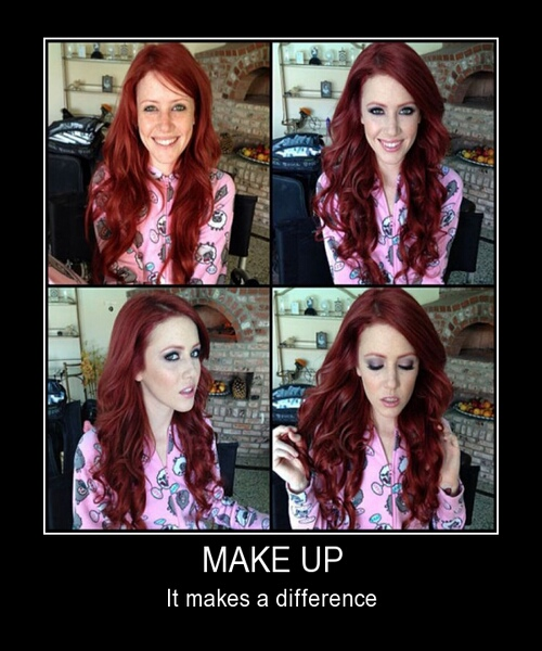 Make Up, It Makes A Difference