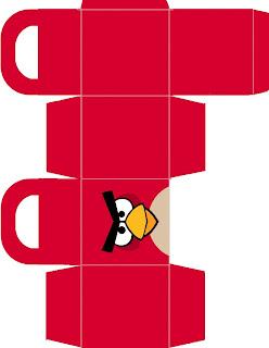 rotulo caixinha kit festa angry birds imprimir grátis