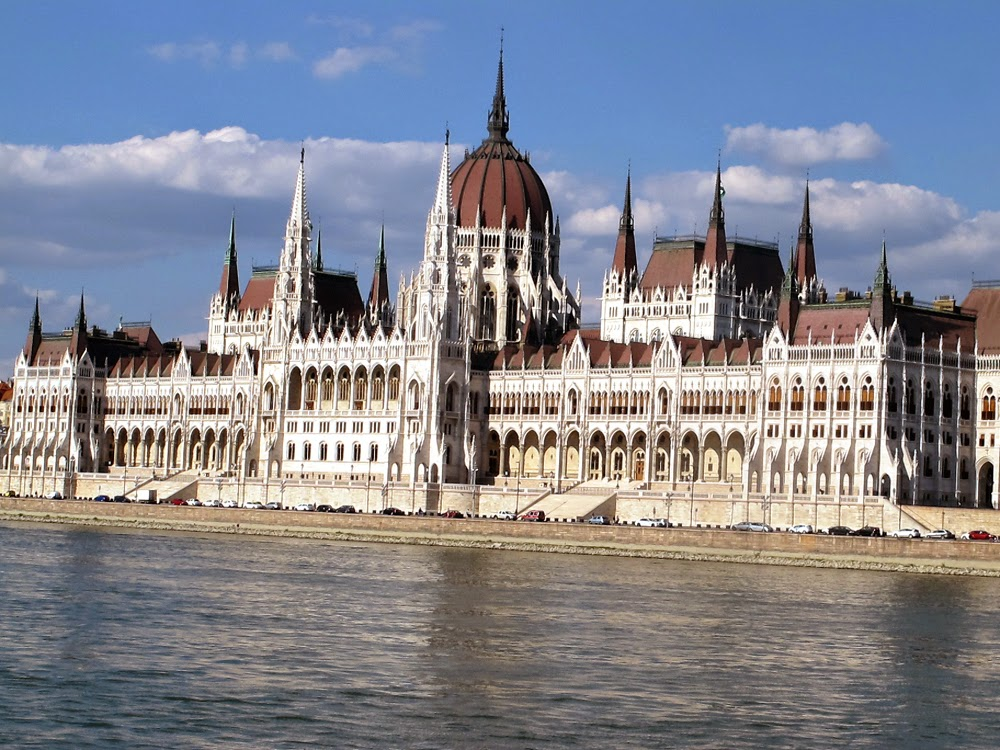 Beautiful Budapest architecture