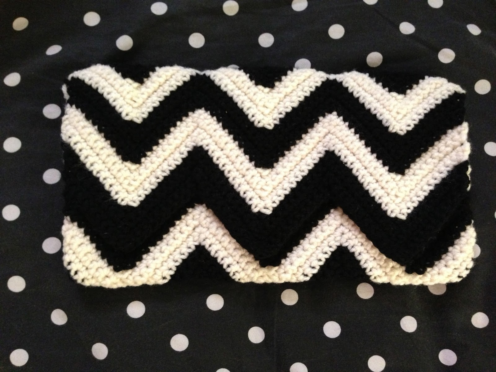 Crochet chevron clutch iknits smooth going through both loops bankloansurffo Gallery