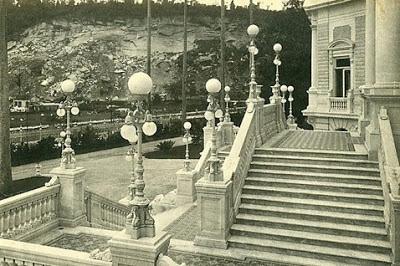imagem antiga do palacio da guanabara no rio de janeiro
