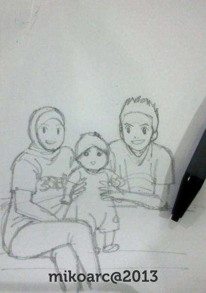 kartun keluarga