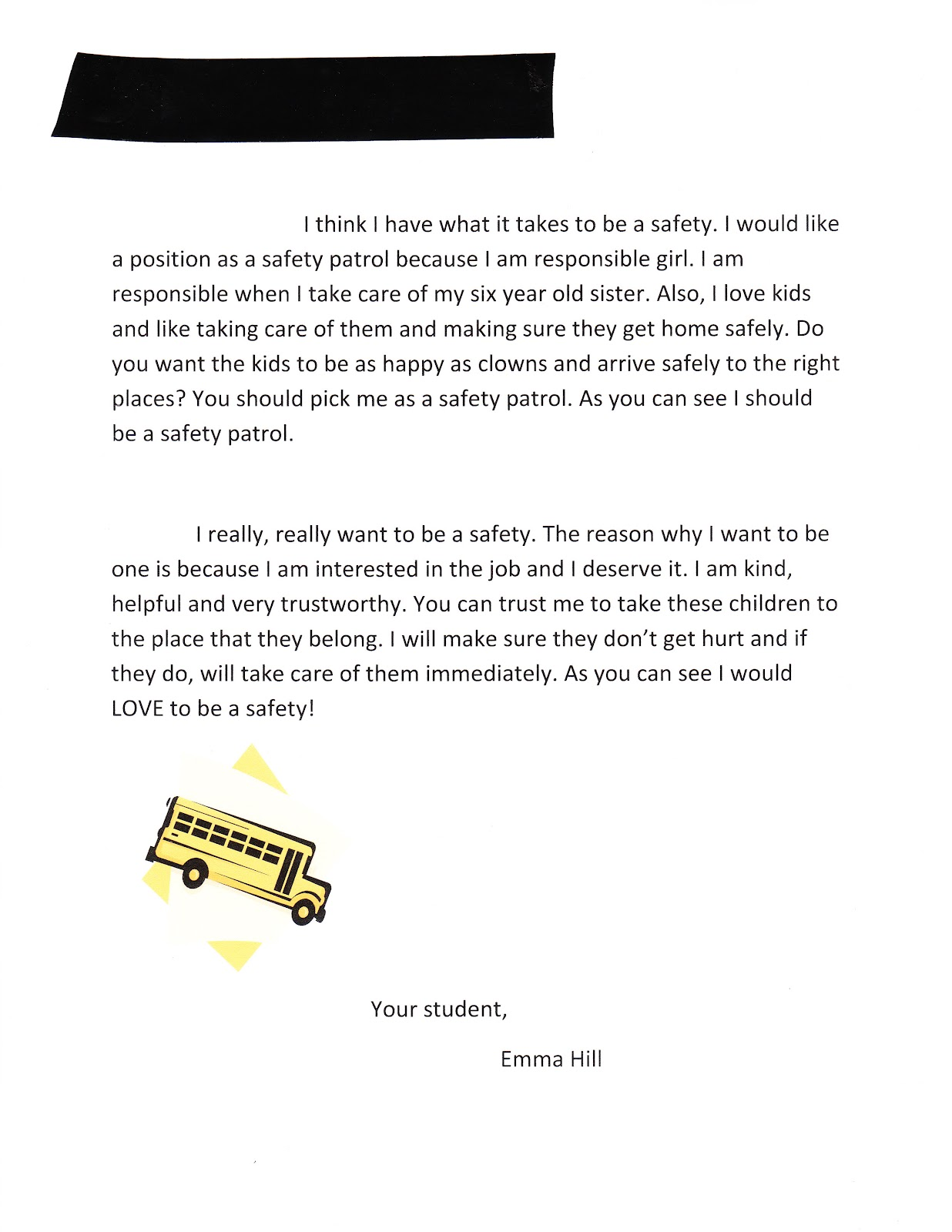essay on safety at home the letter that landed my daughter on the  the letter that landed my daughter on the safety patrol pieces the letter that landed my
