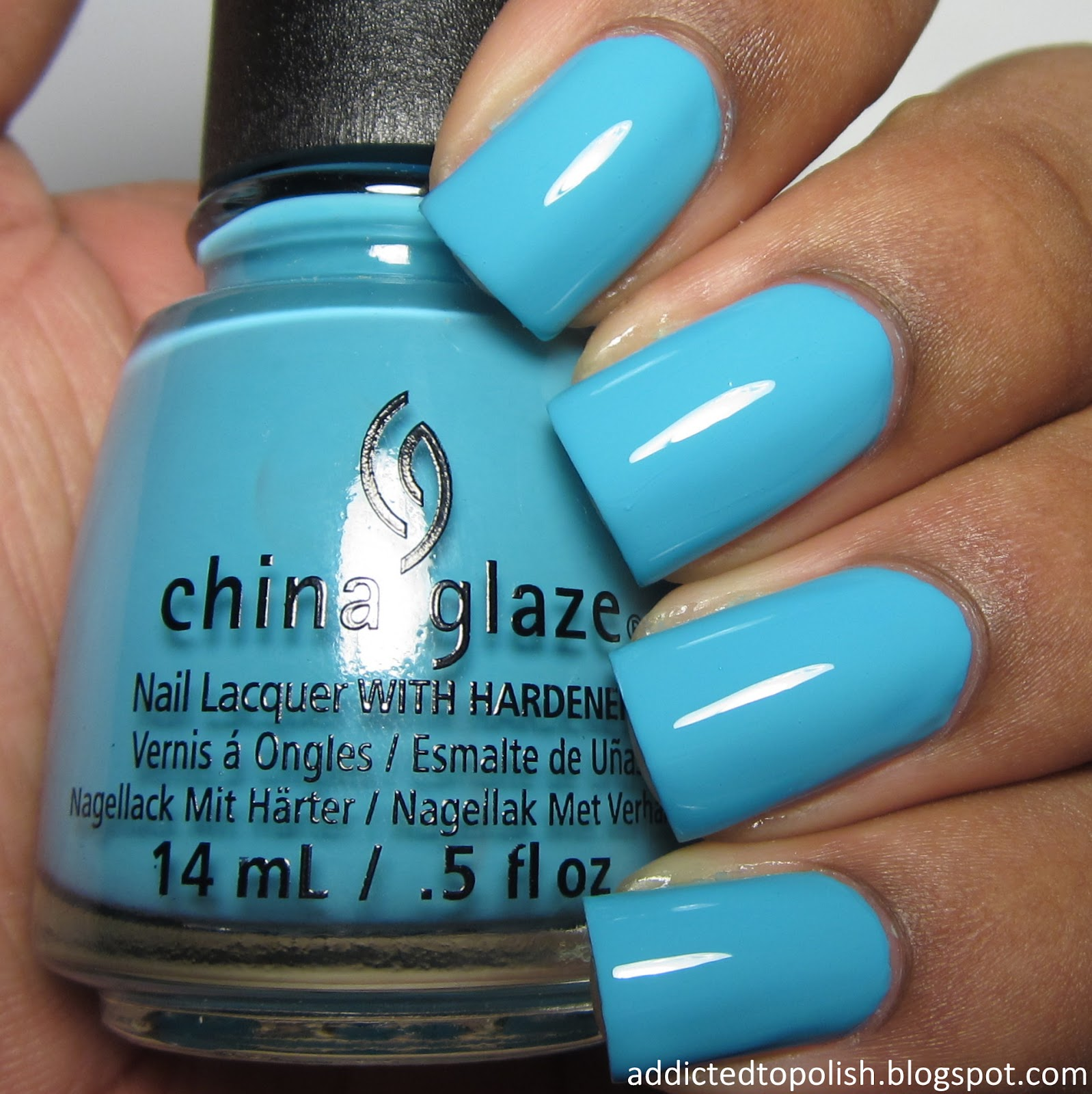 china glaze uv meant to be summer electric nights 2015