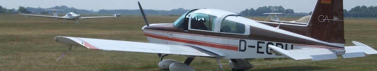 Grumman Tiger AA5B aircraft for sale, based in Berlin/Germany