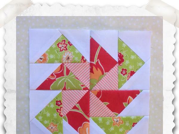 Chatelaine- Free BOW Sampler Quilt Block 32