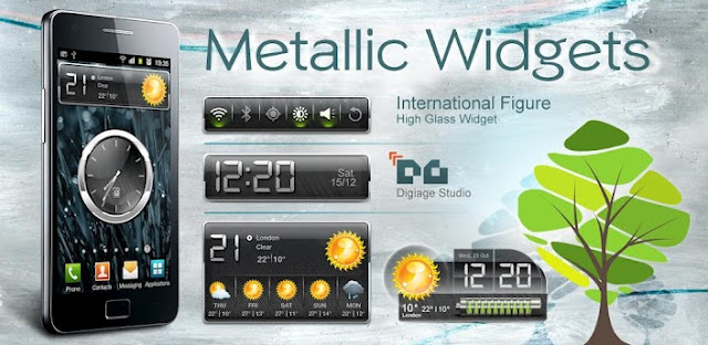 HD Metalic Widgets