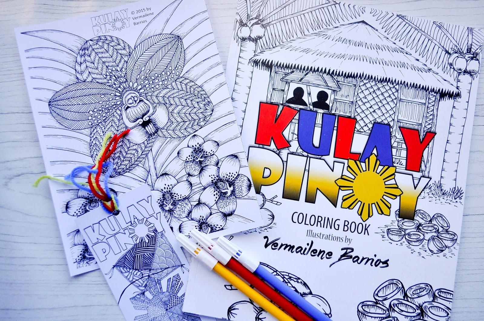 Kulay Pinoy Adult Coloring Book