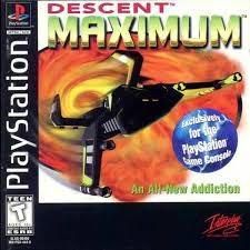 Descent Maximum - PS1 - ISOs Download