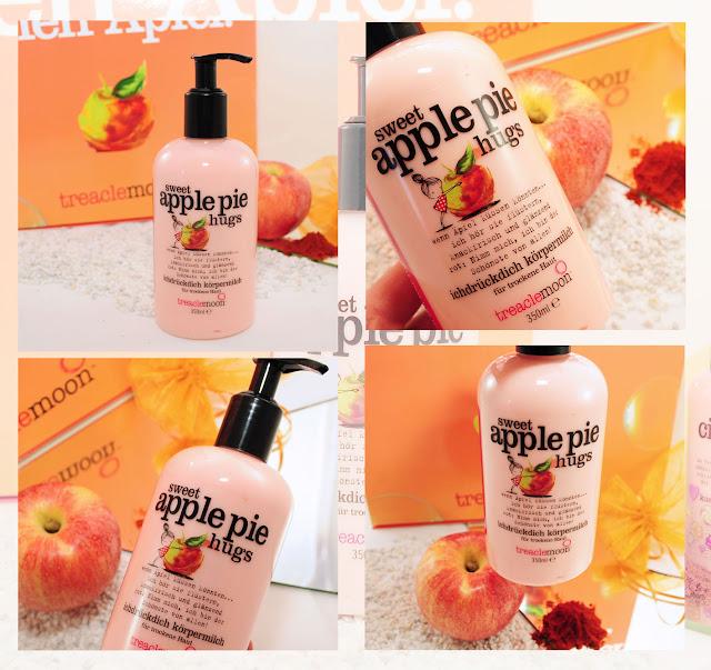 Neue Körpermilch Sweet Apple
