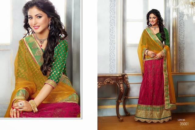 Hina Khan Style Floor Lehenga Choli – Buy Online Shopping Designer Choli