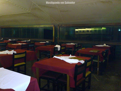 Barravento Restaurante & Chopperia: Salão fechado