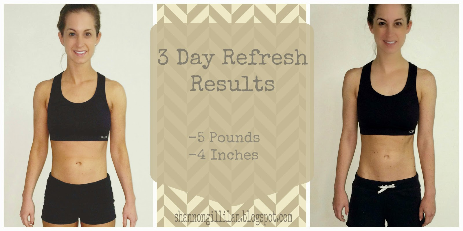 3 Day Refresh Beachbody Results Cleanse Detox www.shannongillilan.blogspot.com