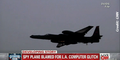 Spy Plane Disrupts Air Traffic Control Computers, Shuts Down LAX