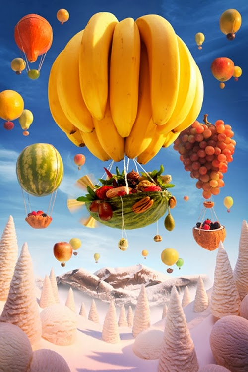 13-Banana-Balloon-Foodscapes-British-Photographer-Carl-Warner-Food- Vegetables-Fruit-Meat-www-designstack-co