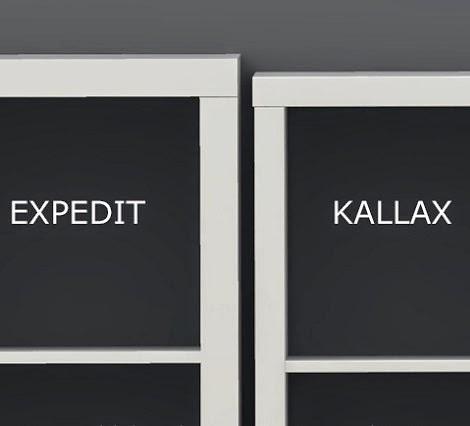 tersi diy expedit vs kallax. Black Bedroom Furniture Sets. Home Design Ideas
