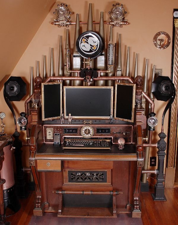 steampunk modding PC