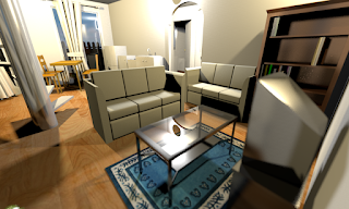 sweethome 3d living room