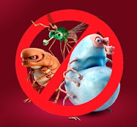 Comabte a pulgas, carrapatos e mosquitos