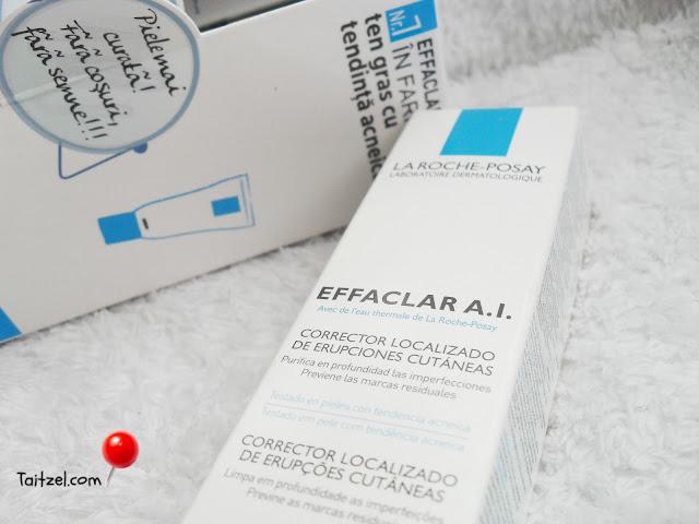 la Roche-Posay Effaclar AI crema tratament acnee