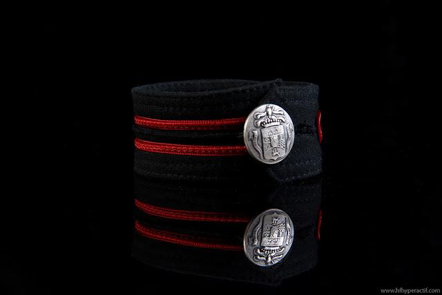 Black-Military-Bracelet