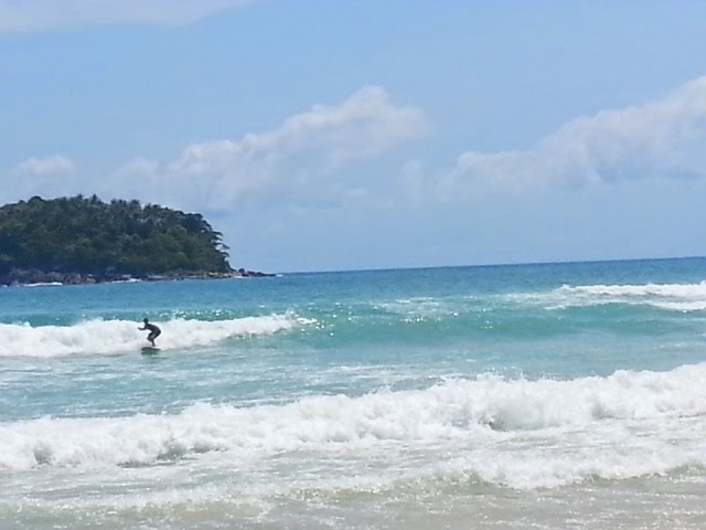 Surfing in Phuket - Kata Beach