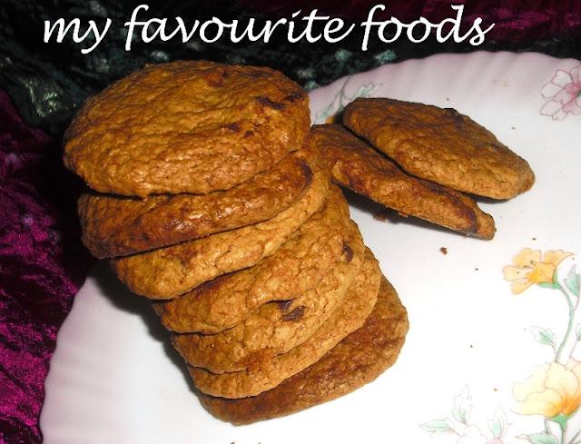 oatmeal chocochips cookies