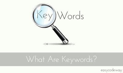 What are keywords and how search engine make use of them.