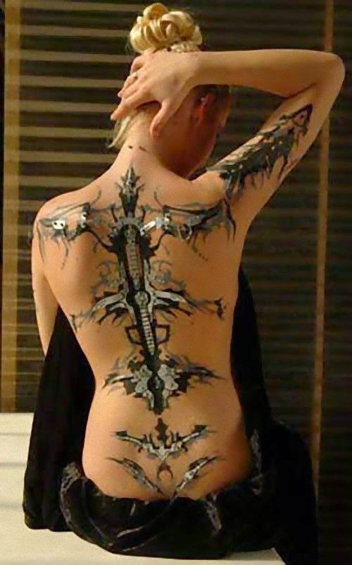 3 Best 3D Tattoos For woman's