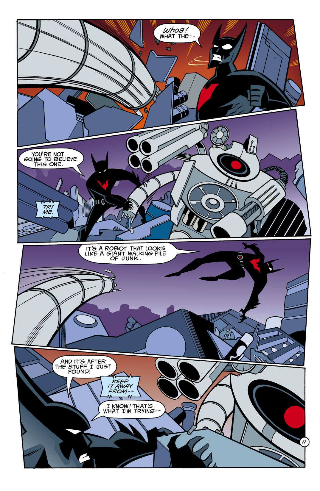 Batman Beyond [II] Issue #10 #10 - English 12
