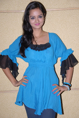 shanvi at lovely movie success meet hot photoshoot