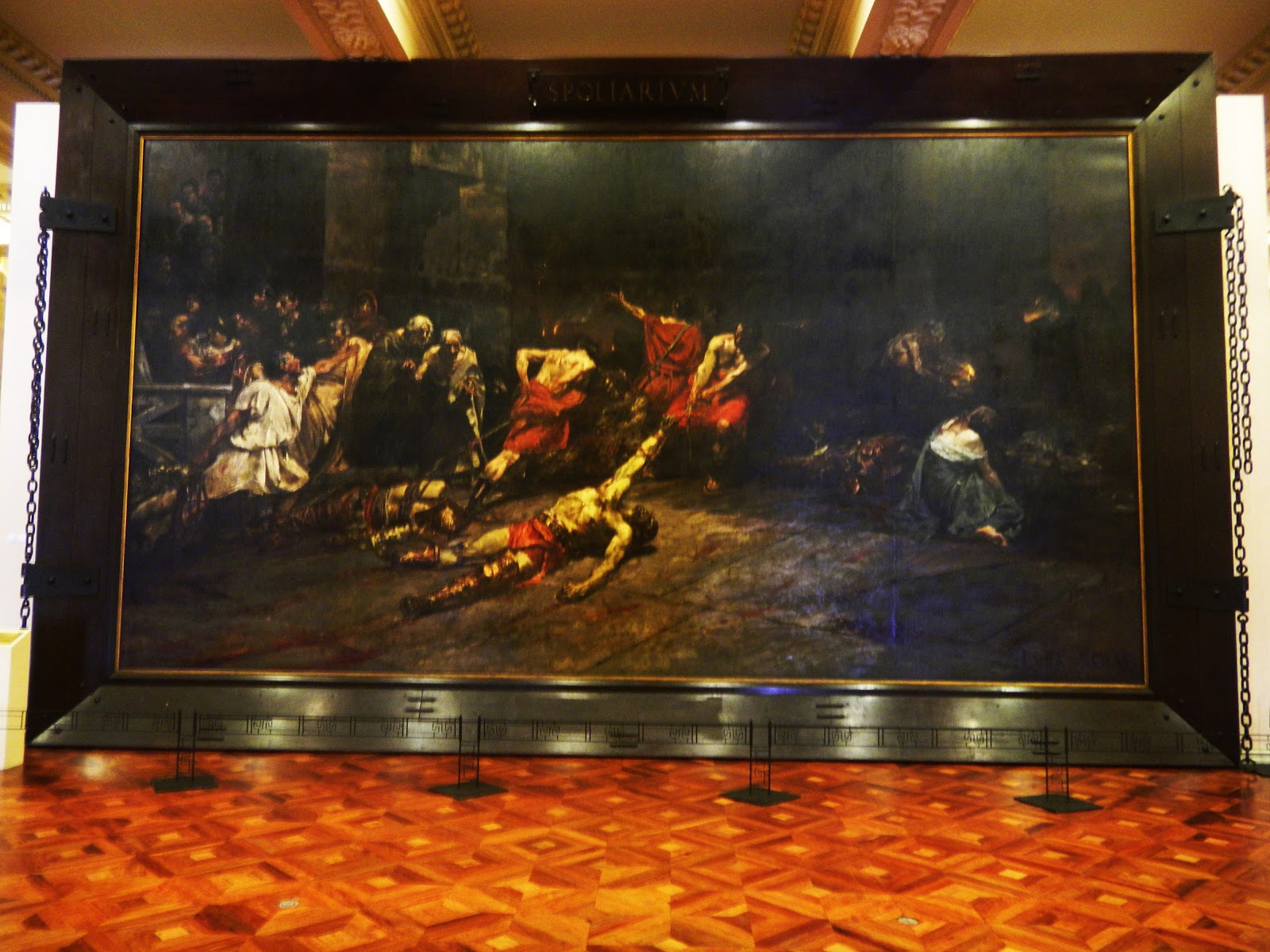 spolarium painting of juan luna means A description of juan luna's painting, the spoliarium this painting is the largest  painting in the philippines and an amazing history behind this.