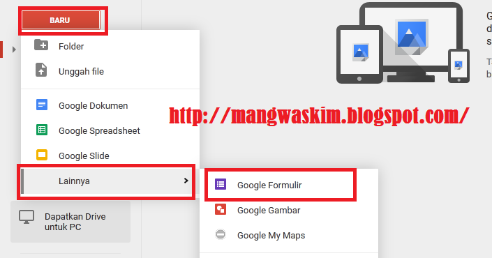Cara Mudah Membuat Soal Tes Atau Ujian Online Dengan Google Drive Mang Waskim Operator Sekolah