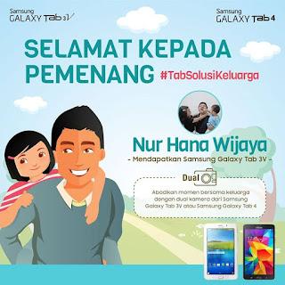 Pemenang Samsung Galaxy Tab Kontes Foto Hari Ayah