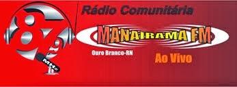 Ouça a Rádio Manairama FM