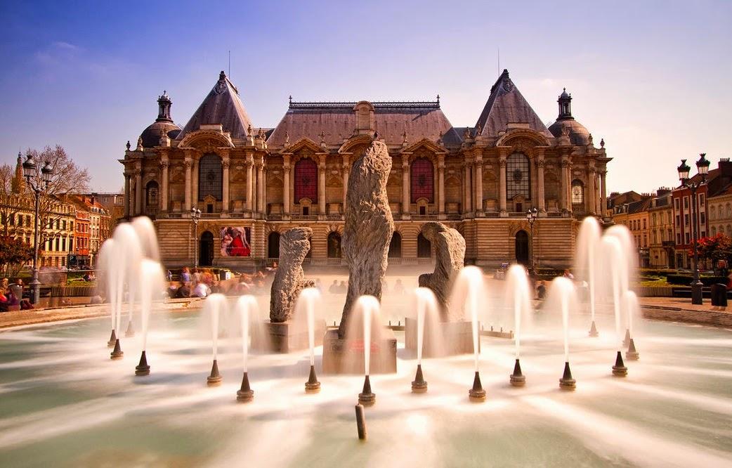 مدينة ليل الجميلة في فرنسا
