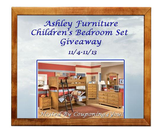 Ashley furniture children 39 s bedroom set giveaway ends 11 - Ashley bedroom furniture reviews ...