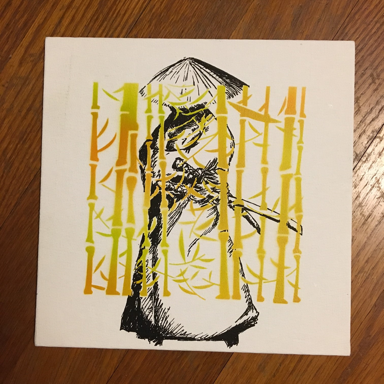 Ideas and Inspirations: Stencil and Paint Pen Art