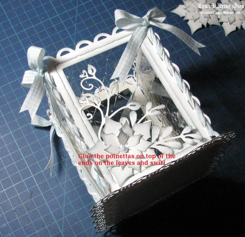 Рождественские фонарики из бумаги своими руками
