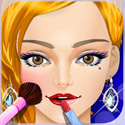 Prom Night Makeup - Girls Games App iTunes App Icon Logo By George CL - FreeApps.ws