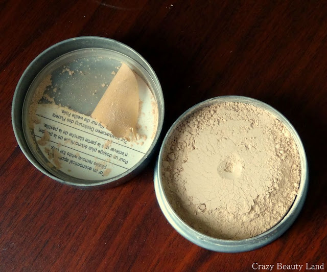 Review and Swatches Kryolan Translucent Loose Powder in the Shade TL09
