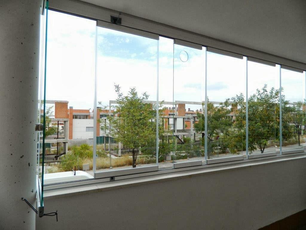Comercial t27 instalaci n de cortina de cristal en - Terraza de cristal ...